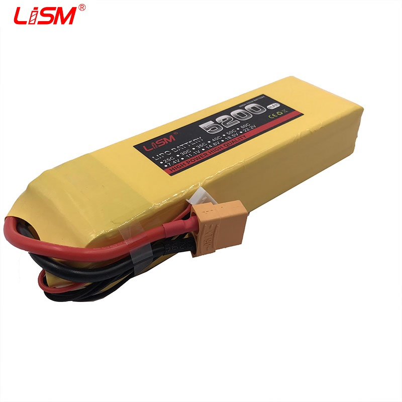 <font><b>4S</b></font> 14.8V <font><b>5200mAh</b></font> 60C RCToys <font><b>Lipo</b></font> Battery For RC Drone Airplane Helicopter Aircraft Quadcopter Car 14.8V Battery <font><b>LiPo</b></font> AKKU#25y84 image