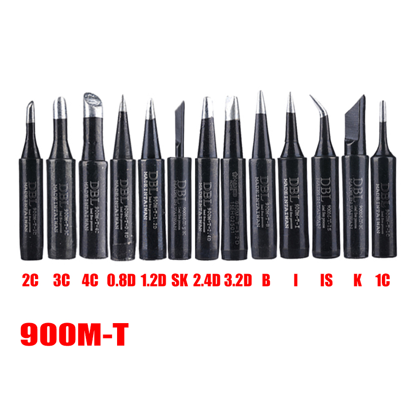 Lead-free 900M-T Soldering Iron Tip For Hakko Soldering Rework Station Solder Tips Welding Tips