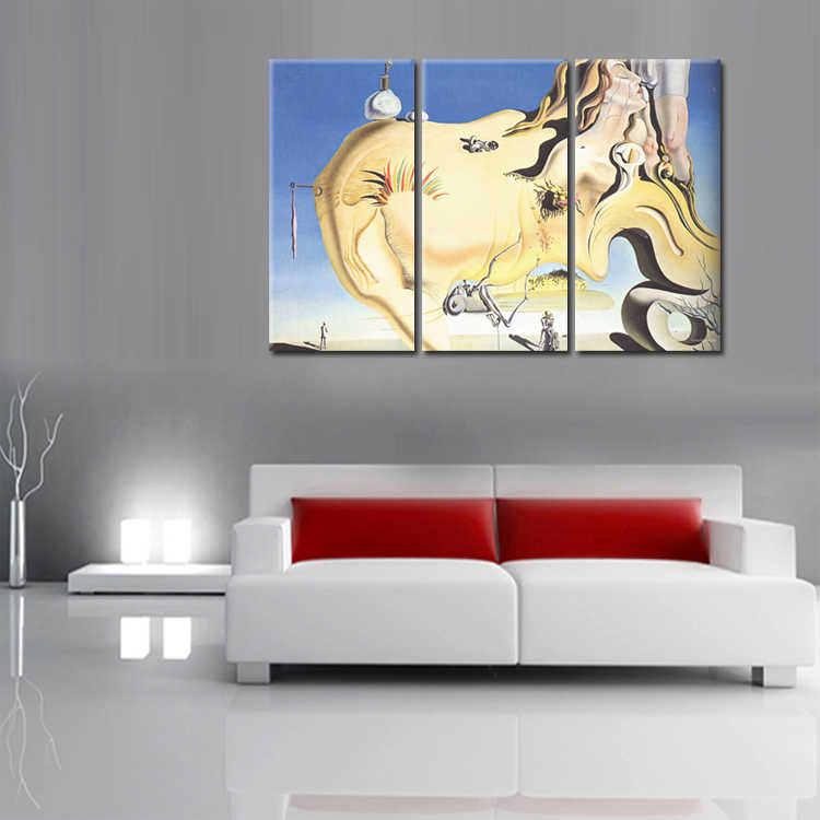 3 Pieces/set Abstract poster series Canvas Painting Living room bedroom Decoration Print Canvas Pictures Framed/Abstract (84)