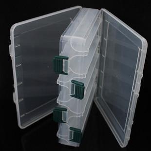 Double Sided Thread Organizer Spool Bobbins Floss Storage Organiser Case Clear