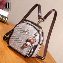 New Designer Fashion Women Backpack Mini Soft Touch Multi-Fu