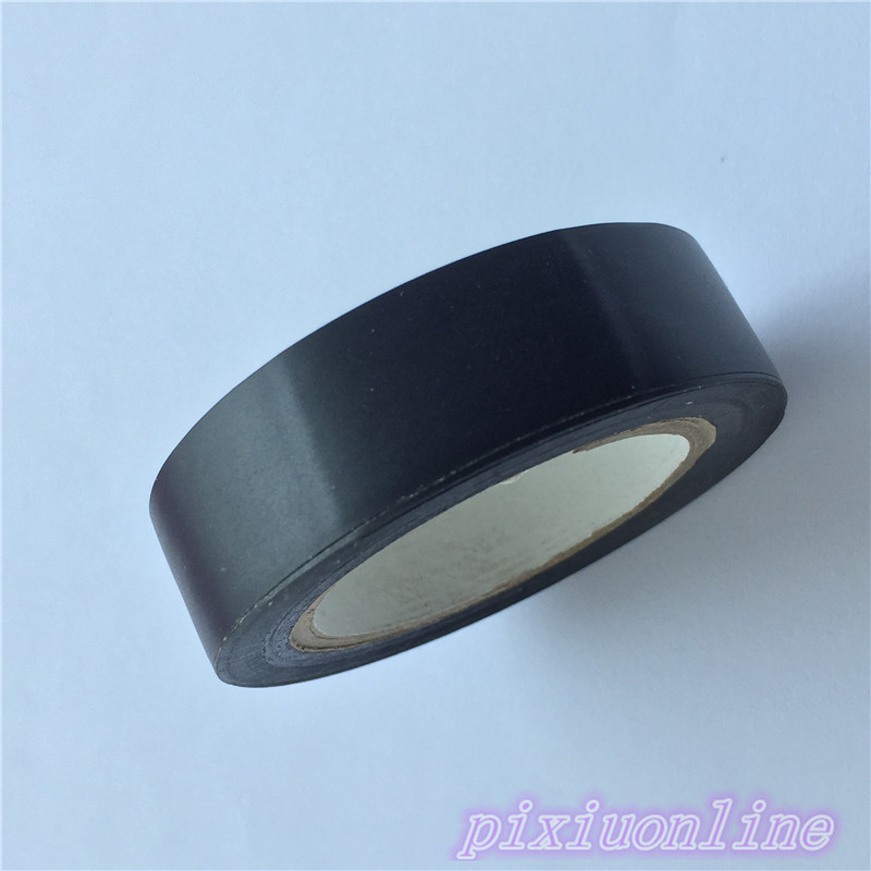 1pc J038Y Black Electrical Adhesive Tape Gaffer Tape Width 1.6cm High Quality On Sale