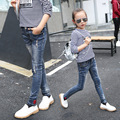 Kids Jeans Wear Skinny Jeans Baby Girl Winter Autumn Long Pant Button Fly Fashion Denim trouser Children Jeans For Girls