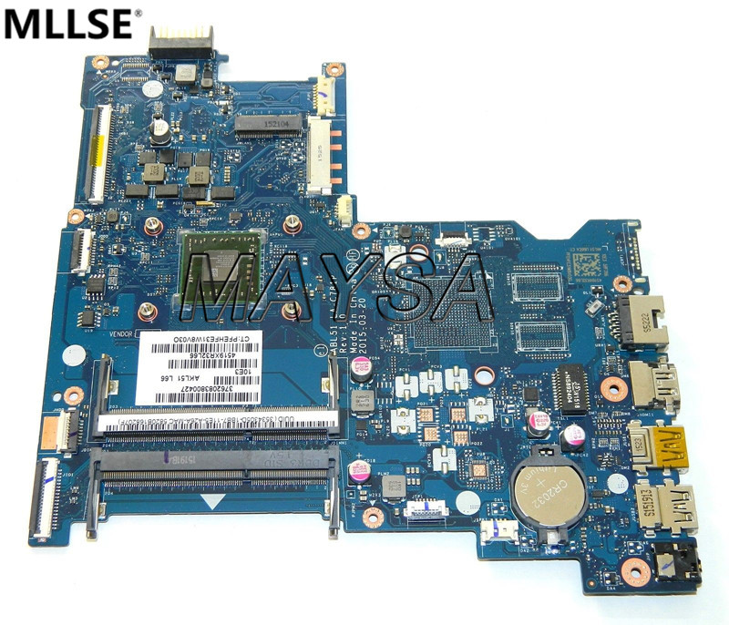 P/N 813969-501 81396-001 ABL51 LA-C781P  Main Board Fit for HP PAVILION 15-AF A8-7410 LAPTOP MOTHERBOARD, 100% WORKING 815248 501 main board for hp 15 ac 15 ac505tu sr29h laptop motherboard abq52 la c811p uma celeron n3050 cpu 1 6 ghz ddr3