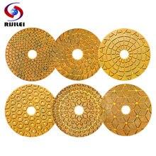 Алмазные полировальные колодки 6 шт/компл 4 дюйма 100 мм