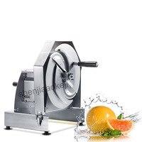 Manual vegetable slicer cutter SD 1168 stainless steel cuttting machine vegetable fruit lemon grapefruit potato slicer 1pc|Food Processors|Home Appliances -