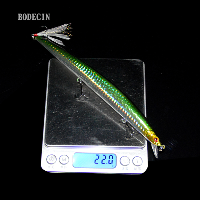 1PCS Floating Minnow For Fishing Lure Laser Hard Artificial Bait 3D Eyes Lures 11cm 13.4g Wobblers Tackle Crankbait Minnows Sea (8)