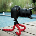 Car Phone Holder Flexible Octopus Tripod Bracket Selfie Stand Mount Monopod Adjustable Accessories For Mobile Samsung Camera