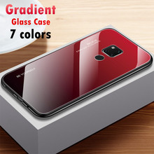 Gradient Tempered Glass Phone Case For Huawei Mate 20 Pro Ma