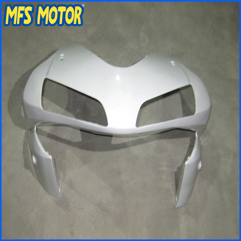 New Upper Fairing Unpainted Front Cowl Head For HONDA 03 04 CBR 600 RR F5 2003 2004 new upper fairing unpainted front cowl head for honda cbr 250 rr 2011 2012 2013