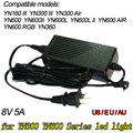 AC DC Power Adapter for Yongnuo YN-300 III YN300III YN600L II YN900 Led Video Light Panel