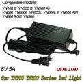 Adaptador de Corriente AC dc para Yongnuo YN-300 III YN300III YN900 YN600L II Luz de Vídeo Led Panel