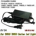 Adaptador de Energia AC DC para Yongnuo YN-300 III YN300III YN900 YN600L II Led Luz de Vídeo Painel