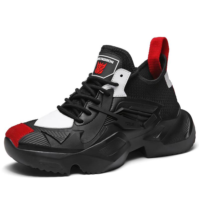 Chaussures homme baskets respirant hauteur augmentant chaussures homme Zapatillas Deportivas Hombre Sapato Masculino Krasovki chaussures noires