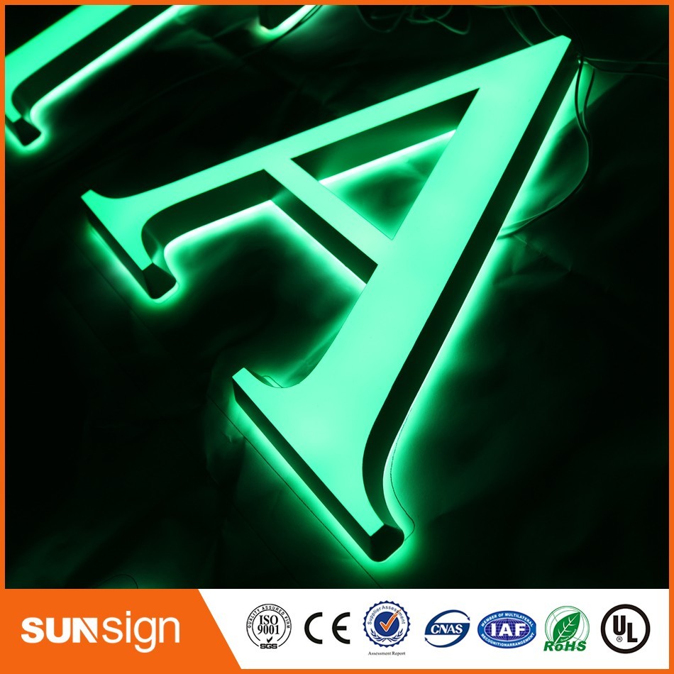 Alibaba-aliexpress Online Wholesale Acrylic LED Light Up Letters