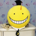Kawaii Assassination Classroom Soft Plush Emoji Pillow 53*34cm Anime Korosensei Peluche Toy Doll for Kids Gift Home Sofa Cushion