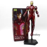 Crazy Toys Iron Man MARK XLVI MK 46 1 6 Scale PVC Painted Figure Collectible Model
