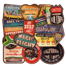 36pcs PVC Fashion Tide Vintage Beach Surf Trip Stickers For Skateboard Luggage Motorcycle Laptop Car Styling Bomb JDM Decal F5