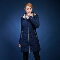 Female Long Design Thick Cotton Padded Jacket With A Hood Plus Size 70 120KG 48