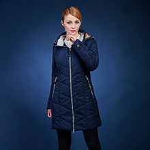 female long design thick cotton-padded jacket with a hood plus size 70-120KG 48-58 outerwear top V510