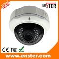 "HD 2.0MP Digital PTZ 1/3"" SONY CMOS with ICR Vandalproof Metal  Dome IP Camera with 25m IR Range 30pcs IR LED Suport POE"