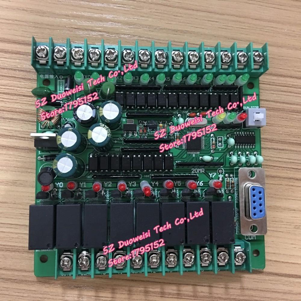 все цены на PLC IPC board microcontroller control board relay board PLC SRD24VDC FX1N-20MR FX1N 20MR онлайн