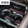 12Pcs/Set Car Styling Gate Slot Pad Interior Door Groove Mat Latex Anti-Slip Cushion For LHD BMW F10 5 Series 2014 2015 2016 LHD