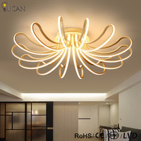 LICAN 2017 New Modern Ceiling Lights For Living Room Bedroom Remote Control And Dimming 110V 220V