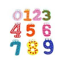 ABWE Веселый Парень, Арабский Магнитных Числах Деревянные Магниты, наклейки для Детей Развивающие игрушки