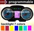 DIY спидометр личные изменения мотоцикл метр подсветка опционально компьютер