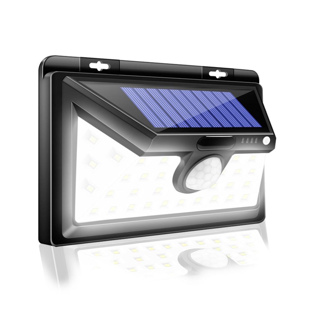 CHIZAO 34 LED Solar Lights For Front Door Back Yard
