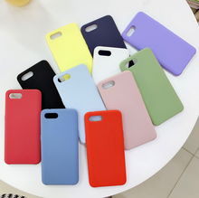 Fashion Silicone Case For Oppo R15 Dream Mirror R15X K1 Soft Cover Shockproof Matte Shell Korean Stylish Yellow Green Pink Blue