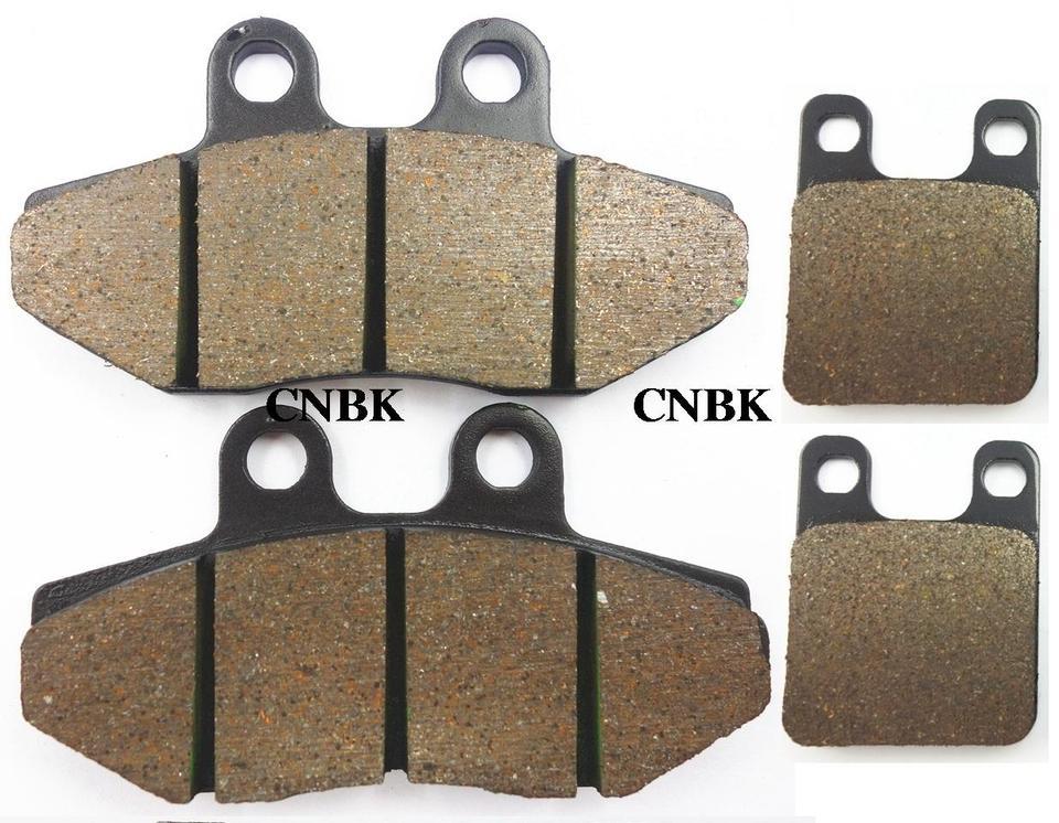 SX cagiva SST 250 80-86 612cm56 Pair Pads fr braking Ant