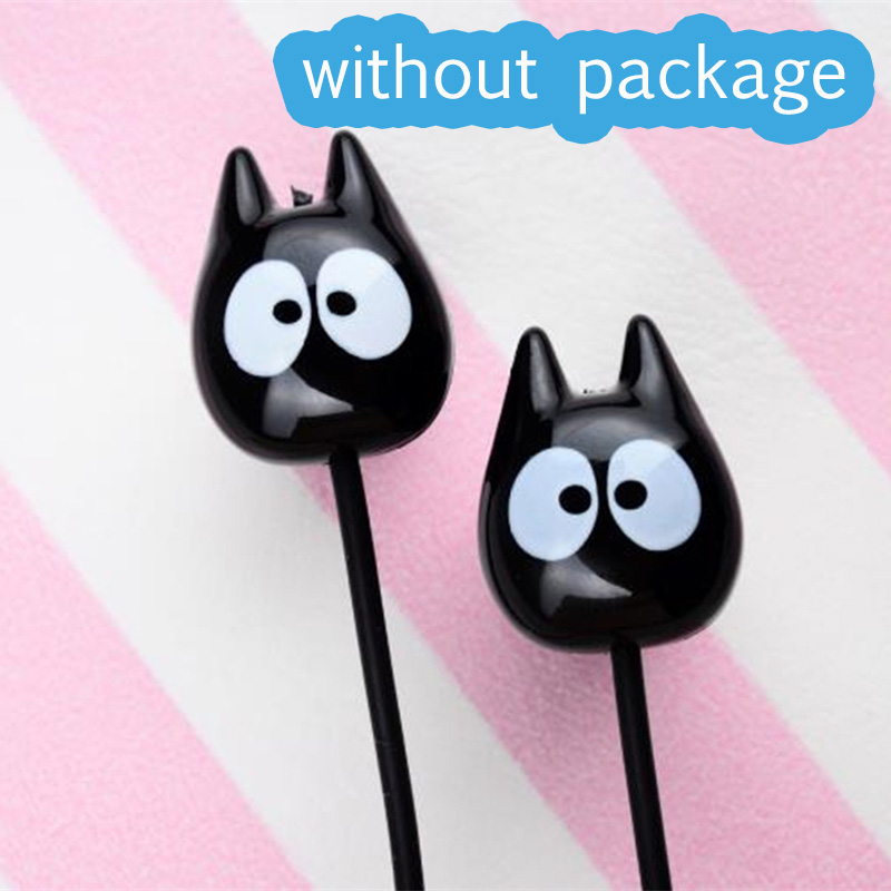 Chiclits Earphone Cute cartoon cat 3.5 mm stereo with mic In-ear headset for iPhone Xiaomi Girls Kids student for Mp3 Mp4 giftsa