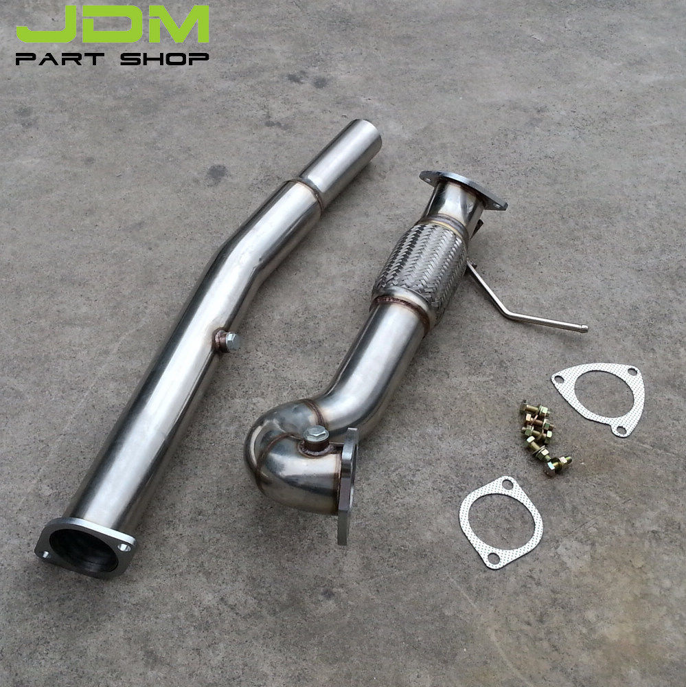 STAINLESS TURBO DOWN PIPE DOWNPIPE for AUDI TT QUATTRO / S3 225 1.8T 5k ключ зубр 64094 h4 эксперт 1 2 42 210 нм