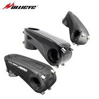 Ullicyc carbono del vástago de la bicicleta del camino/MTB tallos bicicleta de montaña T Diseño 3 K mate/brillo 31,8 * 80/90/100/110mm LGC20