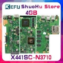 KEFU For ASUS X441SC X441SA X441S A441S 4GB Memory laptop motherboard tested 100% work original mainboard стоимость
