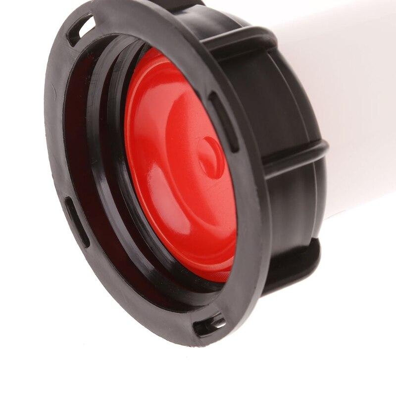 Ibc Tote бак Сливная крышка расширение носик шланг кран с форсункой колпачок клапан внутренняя резьба