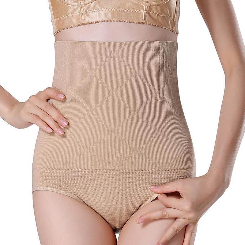 Women High Waist Body Shaper Panties Fajas Modeladoras Seamless Tummy Belly Control Slimming Pants Shapewear Girdle Underwear