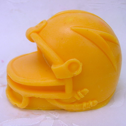 Nicole H0173 Silicone Soap Mold Football Helmet Shapes Craft Handmade Soap Making Mould