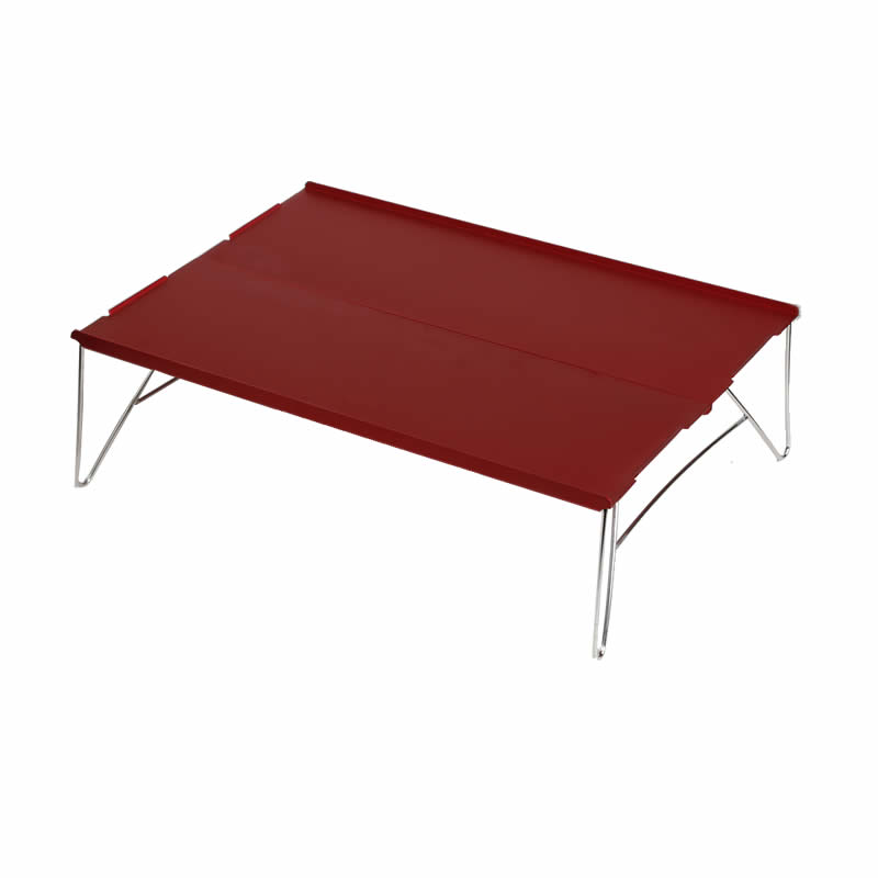 Image 5 - xiu Mini Small Aluminum Camping Picnic Outdoor Hiking Table One and Two People-in Outdoor Tables from Furniture