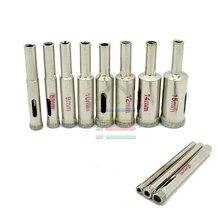 Ceramic Marble GlassTile Drill Diamond Coated Core Drills Bit Set Tools Hole Saw Accessories Opener Bits  11pcs/Set 4mm to 15mm