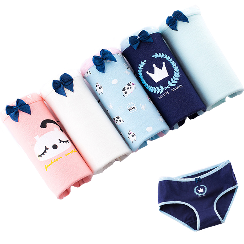 Women Underwear Cotton Briefs Lingeries Seamless Calcinhas Shorts Printed Underpants Girl's Panties Plus Size Lace Panty Ladies