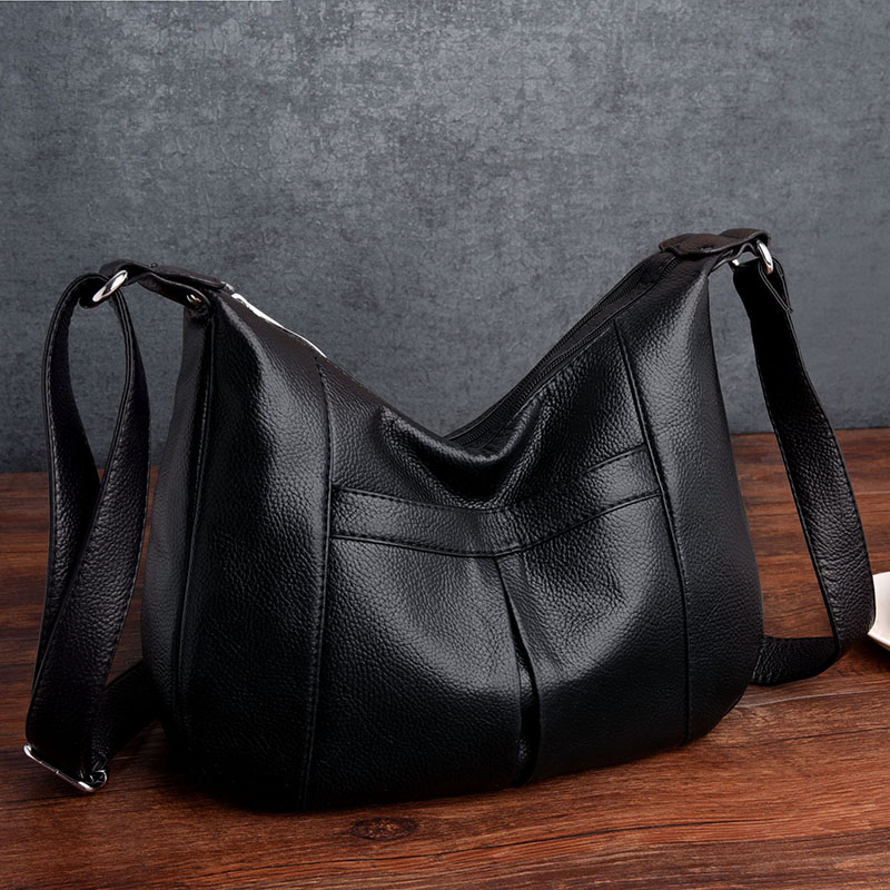 Womens Shoulder Bags Women Hobos Genuine Leather bags Tote Bag Famous Brand Designer Ladies Handbag Messenger Sac A Main