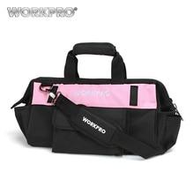 WORKPRO 16 Tool Bag for Tools Hardware Storage 600D Polyester Shoulder Waterproof Bags