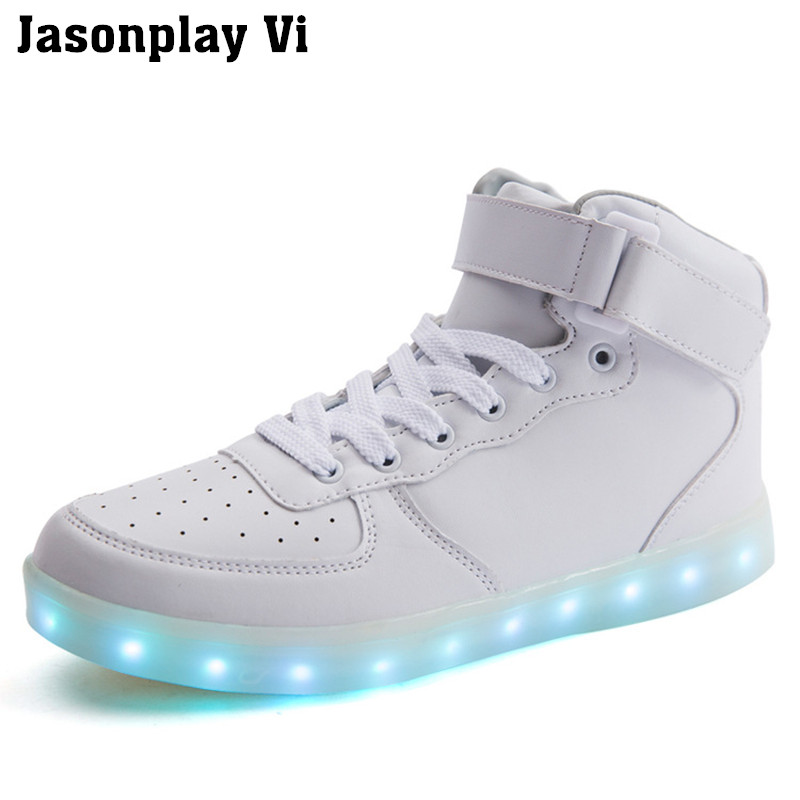 ФОТО Jasonplay Vi & 2016 shoes man pokemon go finding light led shoes safe fashion shoes with USB casual shoes WZ11