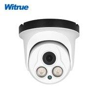Witrue Vandalproof Dome Surveillance Camera Sony IMX323 Sensor AHD 1080P Cctv Camera With 2pcs Array Led