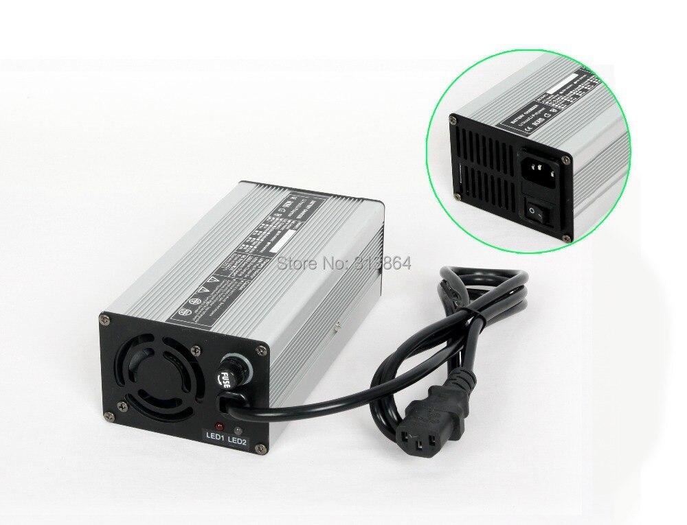 20 S 72 V (84 V CV) 4a Li-ion/LiPoly Batterie Chargeur Boîtier En Aluminium Vélo Électrique Chargeur