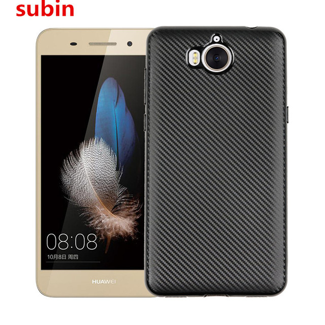 new product cc216 687e4 US $2.85 11% OFF|For Huawei Nova Young Case Carbon Fiber Soft Light and  thin Cover For Huawei Nova Young Mya L41 Mya L11 Phone Bag Case-in Fitted  ...