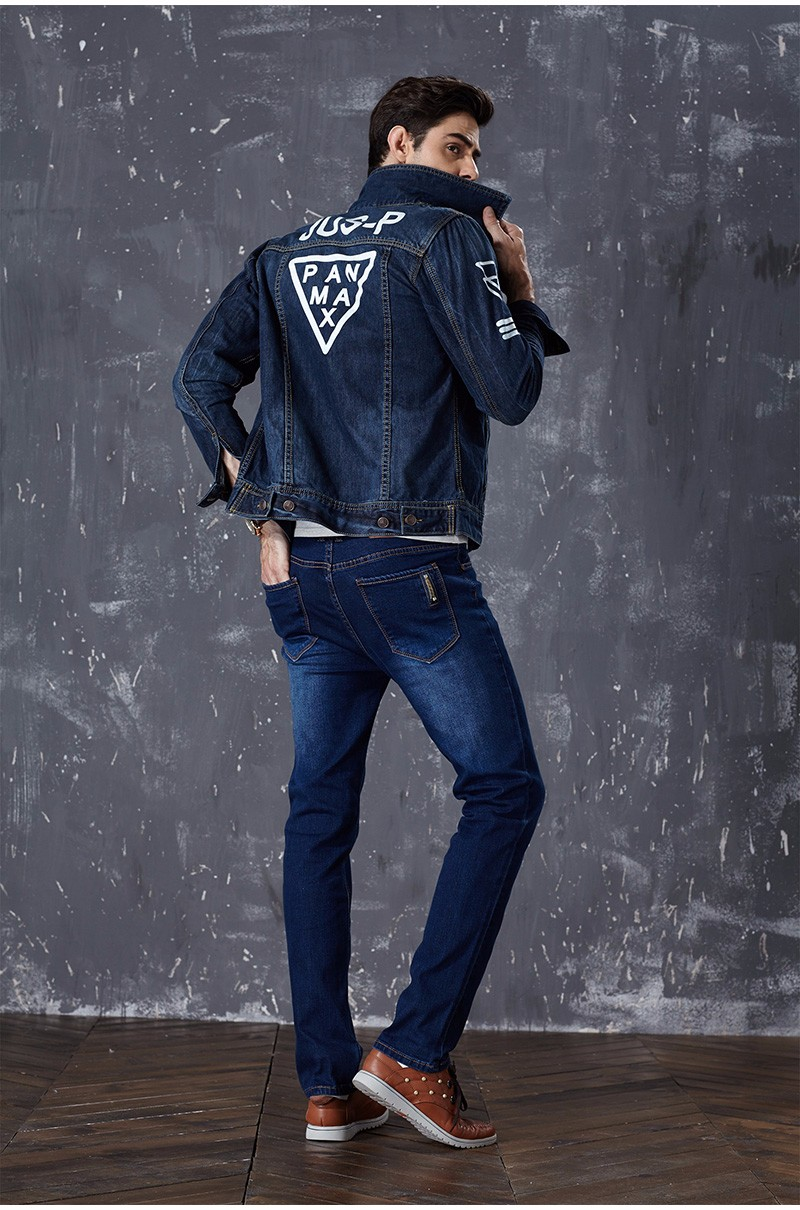 Drizzte Brand New Fashion Mens Jeans Slim Stretch Pants Thin Denim Trousers Size 35 36 38 40 42 Lightweight Jeans for Men 8